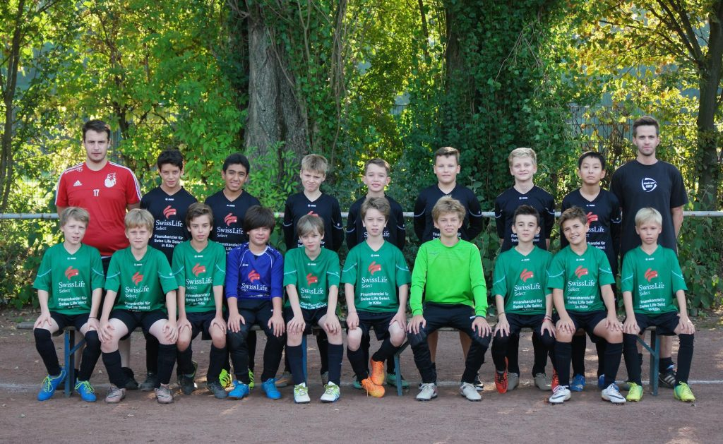 ESV Olympia U13 Saison 2016/17